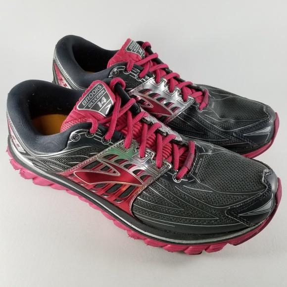 b2f67495862 Brooks Shoes - Brooks Glycerin 14 Women s Running Shoes 11 Pink